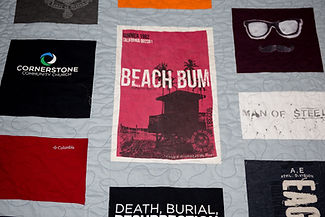 Blooming Life memorial quilts