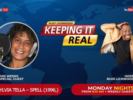 Rudi Lickwood Keepin' It Real Season 2 Ep. 1 with Sylvia Tella