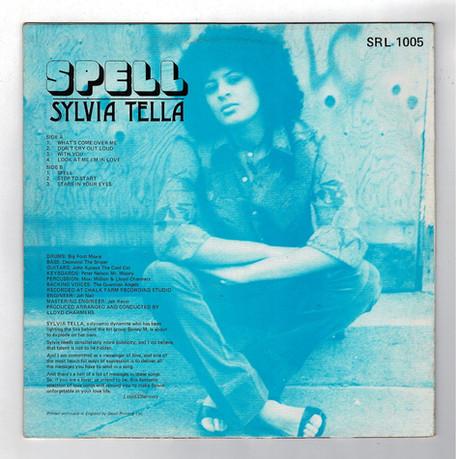 Sylvia Tella - Spell Back Album Cover