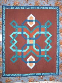 Blue & Brown Quilt