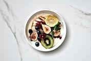 Yogur de fruta sana