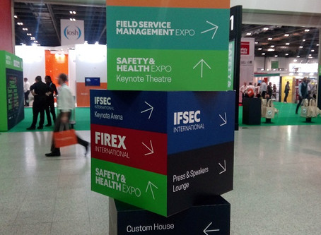 IFSEC / FIREX / SAFETY & HEALTH EXPO Three good shows@ExCeL London