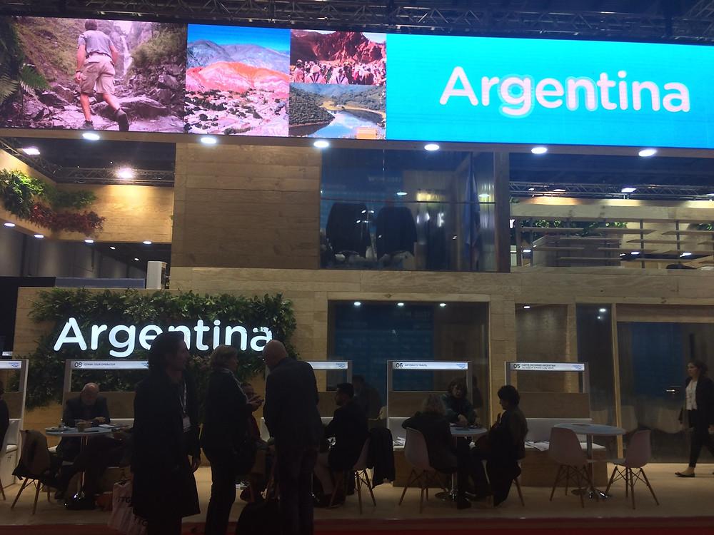 exhibition stand argentina wtm17