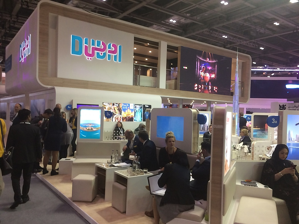 exhibition stand dubai wtm17