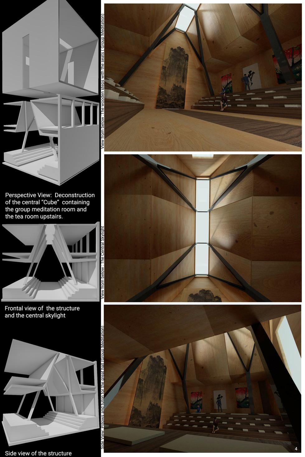 Structure / Group meditation room