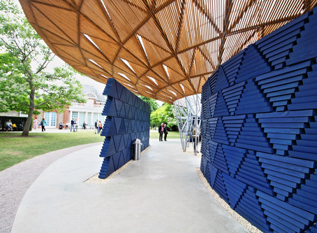 The new Serpentine pavilion was unveiled (and it's worth having a look at it)