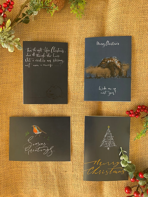 Christmas Celebration Cards Multipack