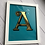 Thumbnail: Hand Painted and 23ct Gold Gild Letter (Single Colour)