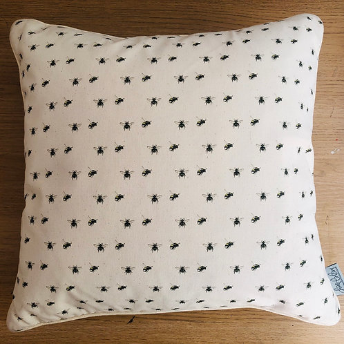 Buzzing Bees Square Cushion