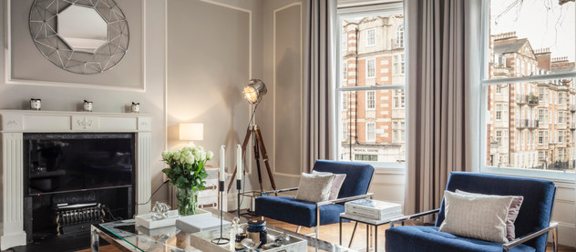 Space saving tips with Natalie Fogelstrom. West London Interior Design.