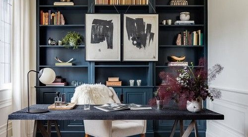 Say Hello to Home Office, 5 Tips from West London interior designer, Natalie Fogelstrom