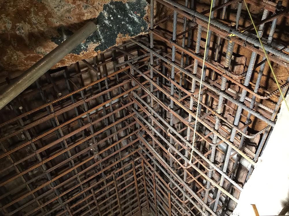 Reenforsed steel walls