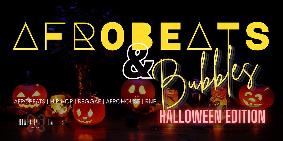 Afrobeats & Bubbles Sunday Brunch Halloween Edition