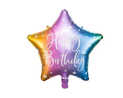 Folieballong Happy Birthday 40cm