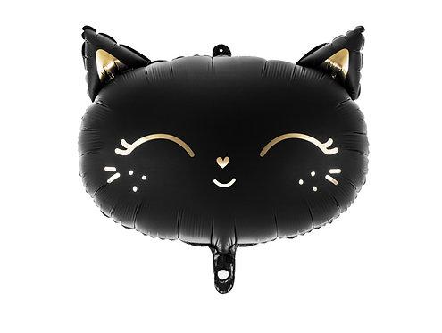 Folieballong Svart Katt 48x36cm