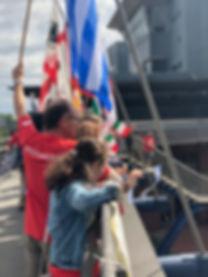 16 flags over Oberhausen.JPG