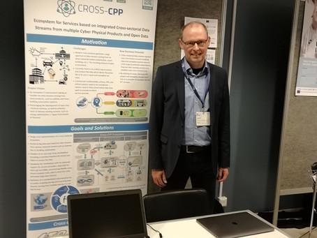 Cross-CPP at the European Big Data Value Forum 2019, Helsinki