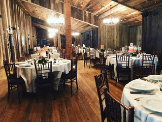 Oak Lodge in Stahlstown DJ and Camper Booth for a beautiful rustic wedding on 9-7-19