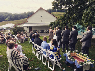 Twistlewaite Winery with Pittsburgh Wedding DJ Stephanie Crooks 8-25-19