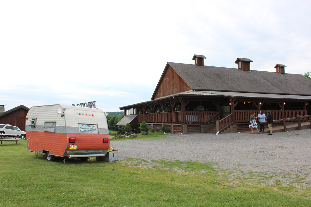 Betsy's Barn & Pittsburgh Camper Booth