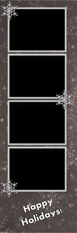 Classic Holiday Silver Design