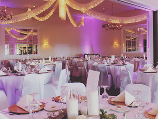 Hillcrest Country Club DJ & uplighting on 8-30-19 with Pittsburgh Wedding DJ Stephanie Crooks