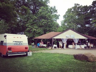 North Park Wedding & The Pittsburgh Camper Booth June 2018