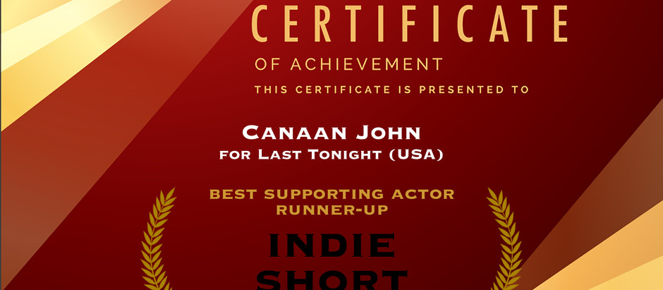 Nominated for Best Supporting Actor!