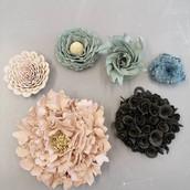 Ceramic Wallflowers