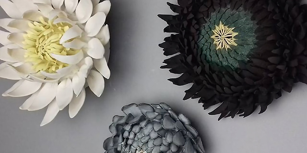 Ceramic Wallflower Workshop  17th October 2020