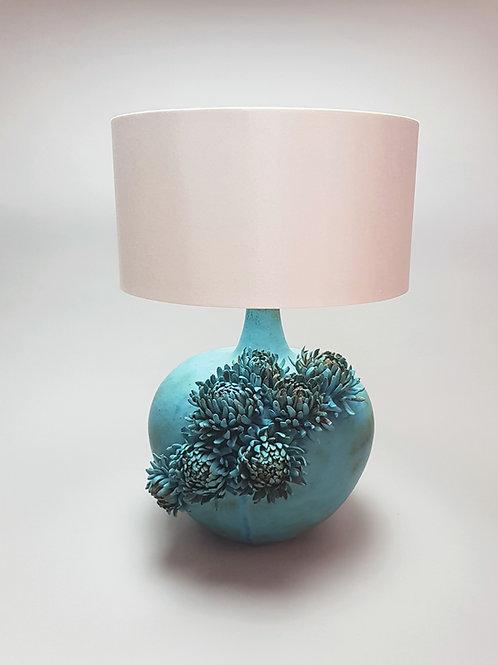 Turquoise Ceramic Lamp