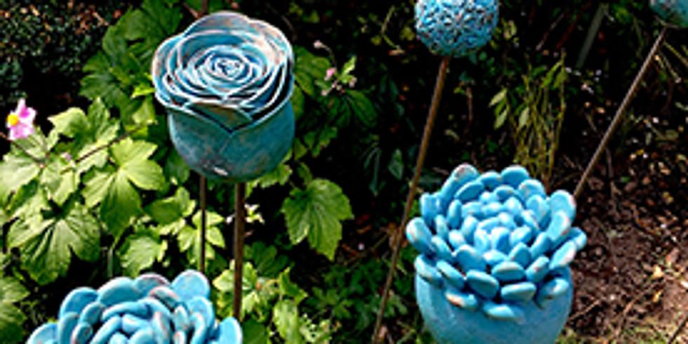 Ceramic Garden Supports 19th June