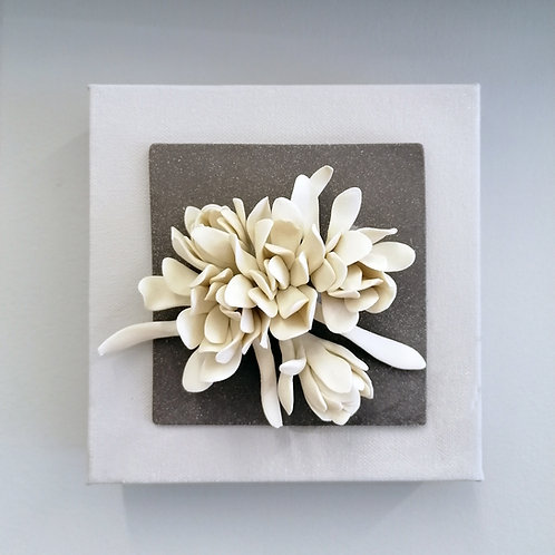 Ceramic Flower Canvas