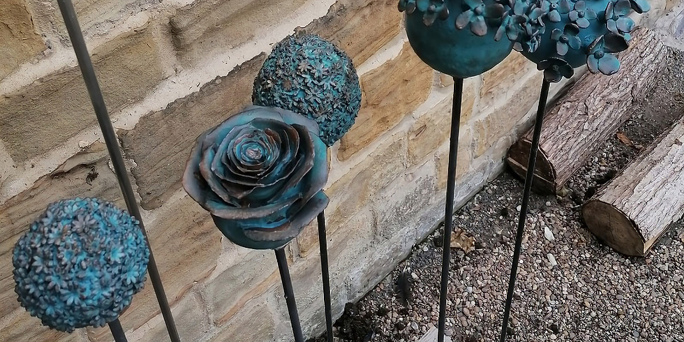 Ceramic Garden Supports 3rd July 2021