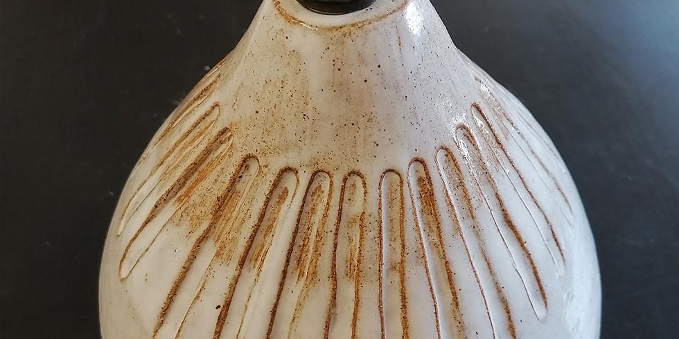 Ceramic Lampbase Workshop 24th July 2021