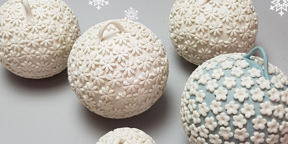 Christmas Baubles and Decorations Workshop 28th Nov 2020