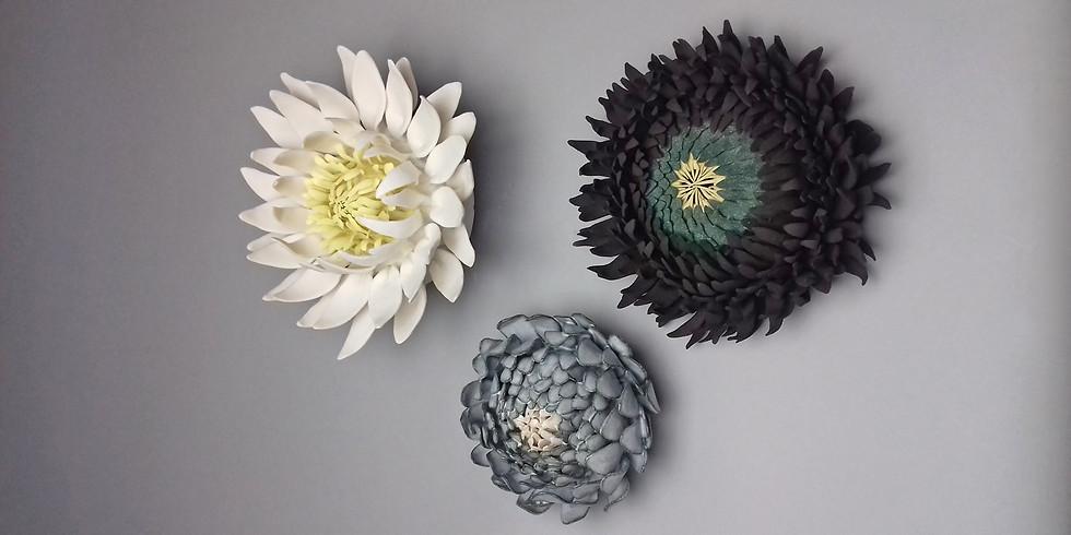 Ceramic Wallflower Workshop 18th September 2021