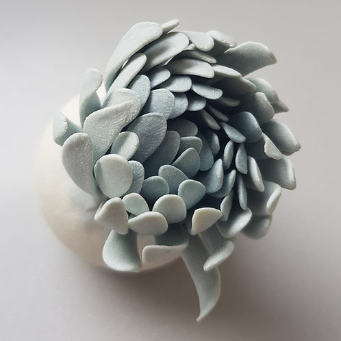 Small flower bud sculpture