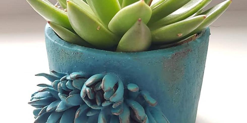 Ceramic planter workshop (1)