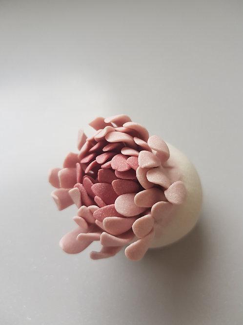Small flower bud sculpture