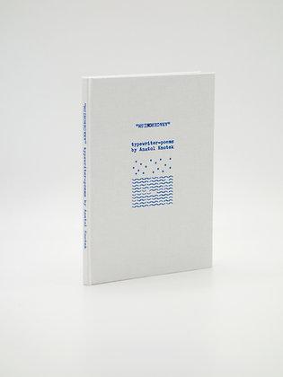 blue »anachronism« unique artist book