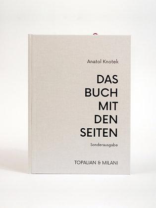 »DAS BUCH MIT DEN SEITEN« limited handmade edition by anatol knotek