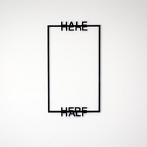 half here