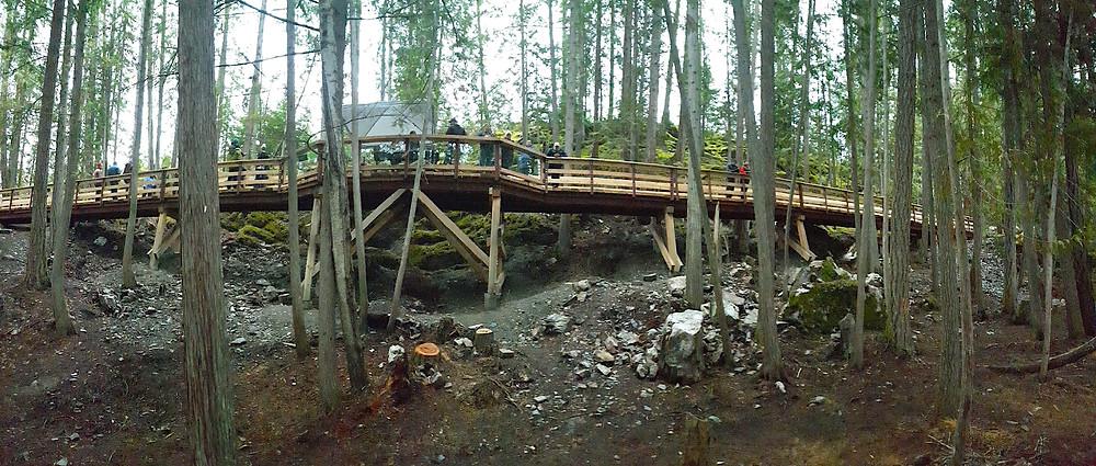 Bridge at Mt Abriel Nakusp