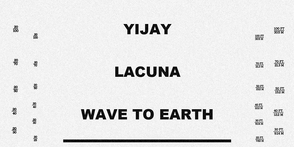 YIJAY x LACUNA x WAVES TO EARTH