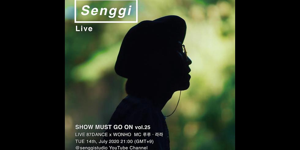 팔칠댄스 x 원호 | 87dance x WONHO <Show Must Go On VOL.25> Live Stream Donation Concert