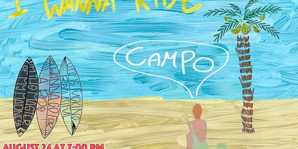 밴드 캄포(CAMPO) 의 첫 공연 < I WANNA RIDE >