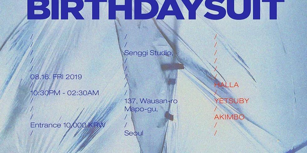 Halla Presents < BIRTHDAY SUIT >