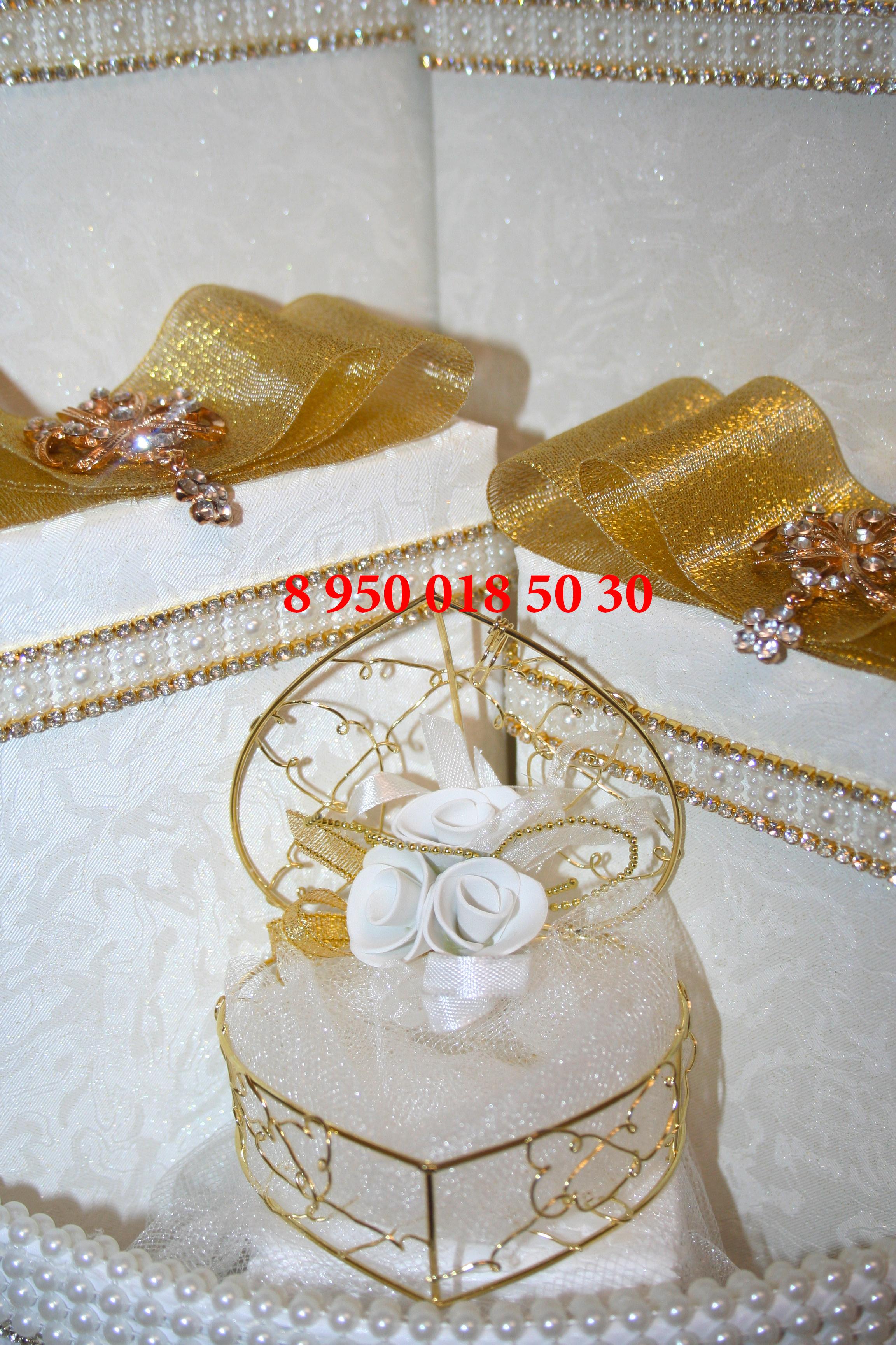 оформление подарков на помолвку