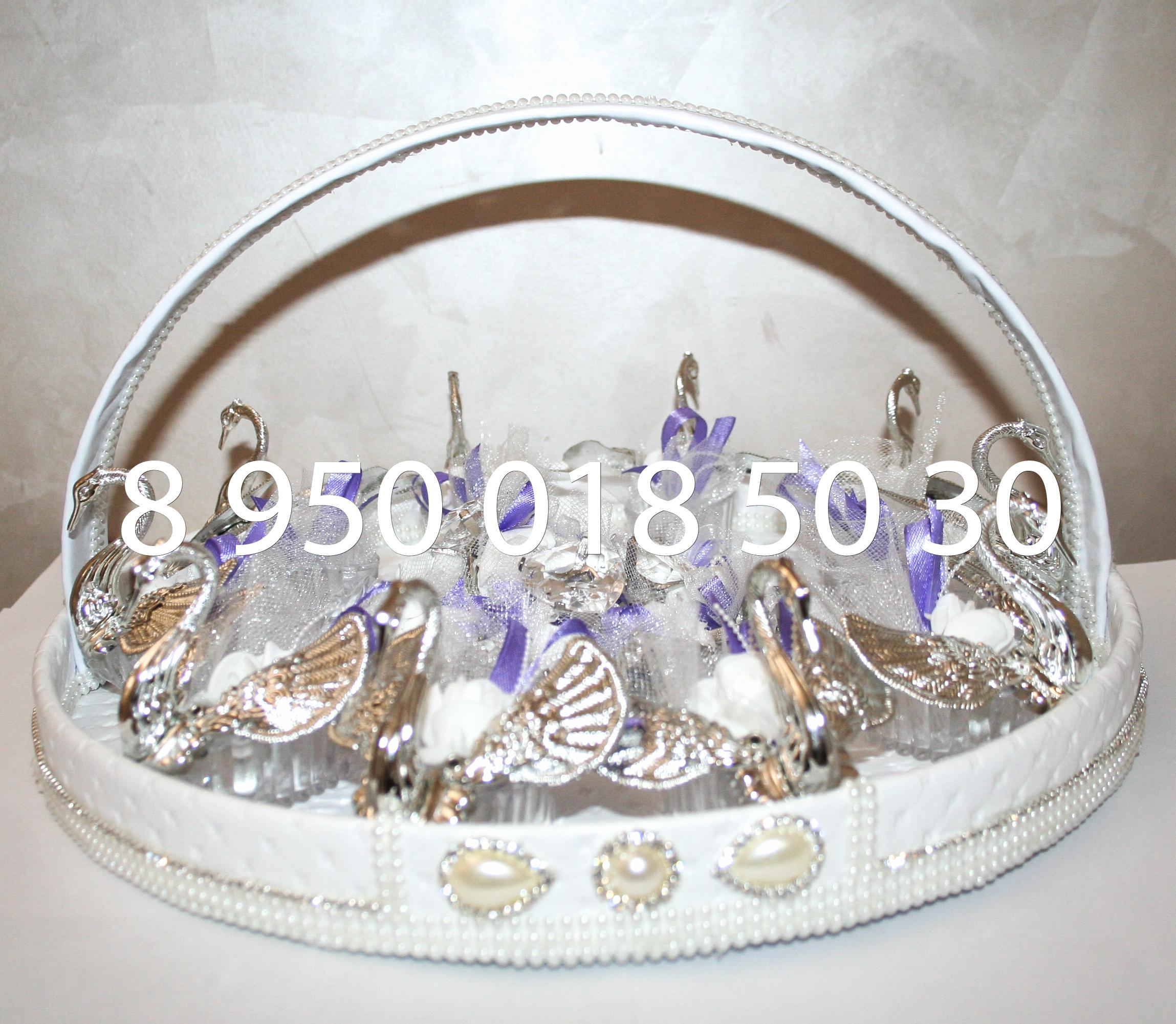 свадебная корзина для таросик